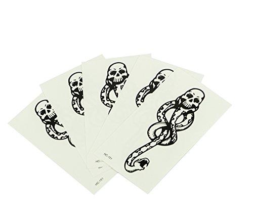new-5pcs-dark-mark-death-eater-temporary-halloween-cosplay-tattoo