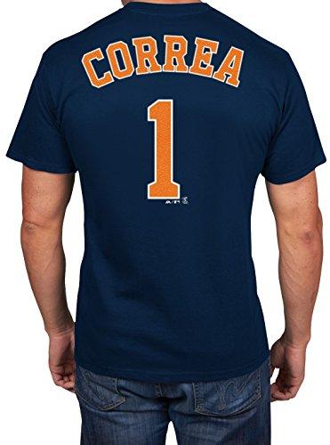 Carlos Correa Houston Astros #1 MLB Men's Player Name & Number T-shirt