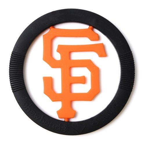 Chewbeads MLB Gameday Teether - San Francisco Giants