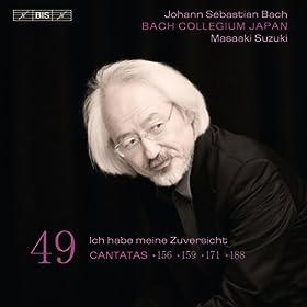 Ich steh mit einem Fuss im Grabe, BWV 156: Aria: Herr, was du willt, soll mir gefallen (Alto)