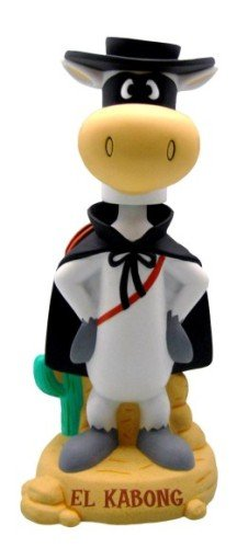 Buy Quick Draw McGraw El Kabong 12 Inch Bobble Bank with Sound