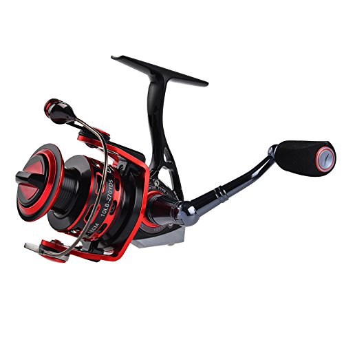 Clearance-SaleKastKing-Orcas-II-All-Metal-Spinning-Reel-Smooth-Powerful-Yet-Light-Weight-Carbon-Fiber-Drag-System-with-All-Aluminum-Reel-2016-Newly-Released-ICAST-Award-Winning-Brand