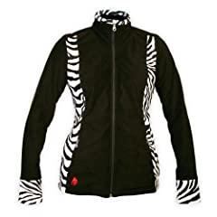 Buy Hot Chillys Ladies Print Zip Jacket by Hot Chillys