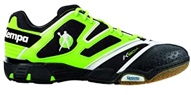Kempa Status XL 200843701, Herren Sportschuhe - Handball, Grün (grün/schwarz/weiß), EU 44 (UK 9.5) (US 10)
