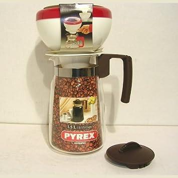 Machine à café DELONGHI verseuse carafe pichet en verre 10 Tasses Noir//Argent