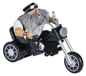 Kwo Biker On Motorcycle German Christmas