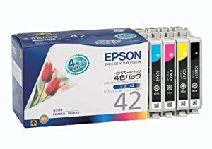 EPSON インクカートリッジ 4色一体セット [IC4CL42]