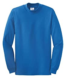 Port & Company Mock Turtleneck. PC61M XX-Large Royal