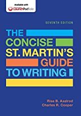 The Concise St. Martin's Guide to Writing, Seventh Edition