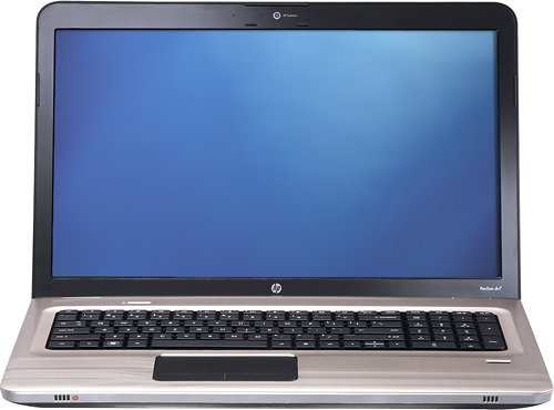 "HP Pavilion dv7-4165dx AMD Phenom II Triple-Core N850(2.2GHz) 17.3"" 4GB Memory 640GB Blu Ray Combo ATI Mobility Radeon HD 4250 Mfr"