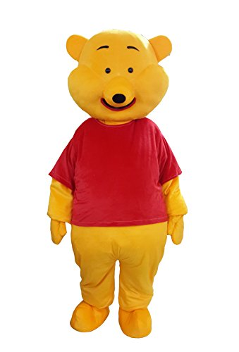 Winnie the Pooh Mascot Costume Cartoon Character Costume