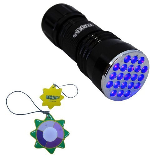 hqrp-professional-21-led-uv-flashlight-with-380nm-wavelenght-for-geology-mineralogy-rodent-detection