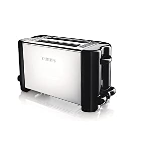 Philips Compact HD4816 2-Slice Pop-up Toaster from Amazon - Rs 1243