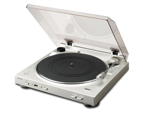 Denon DP-200USB Turntable - Silver