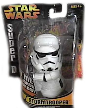 Star Wars Revenge of the Sith: Super Deformed Stormtrooper Figure - 1