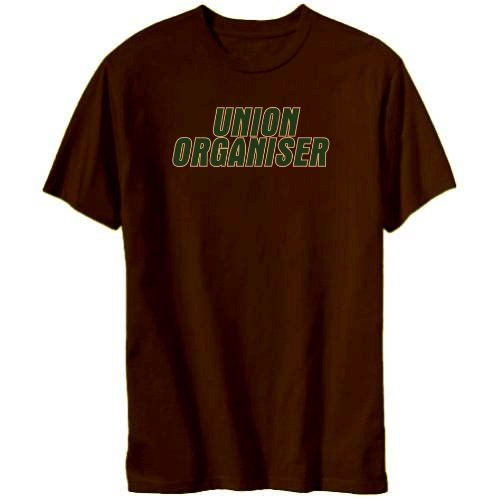 Union Organiser Mens T-shirt