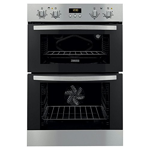 Zanussi ZOD35511XK Double Electric Oven, Stainless Steel - 1995566