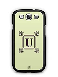 YuBingo Monogram with Beautifully Written letter U Mobile Case Back Cover for Samsung Galaxy S3