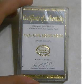 Gold Jigglypuff Card Charizard  6 23K Gold Plated