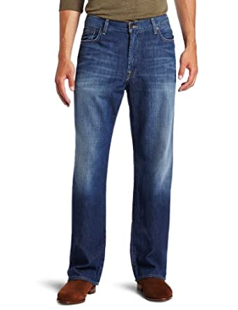 Lucky Brand Men's 181 Relaxed Straight Jean in Ol Neptune, Ol Neptune, 29W x 32L
