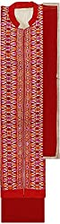 Preety Women's Cotton Semi Stitched Dress Material (PW062, Cream)