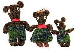Goldilocks Set of 3 Bears