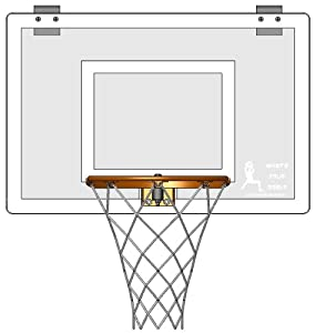 Buy Door Mounted Mini Basketball Hoop - Mini Pro Elite Hoop Set by JustInTymeSports