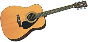 Yamaha F-310 Steel String Acoustic Folk Guitar, Semi Jumbo