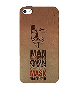 Nice Quote 3D Hard Polycarbonate Designer Back Case Cover for Apple iPhone 4 :: Apple iPhone 4S