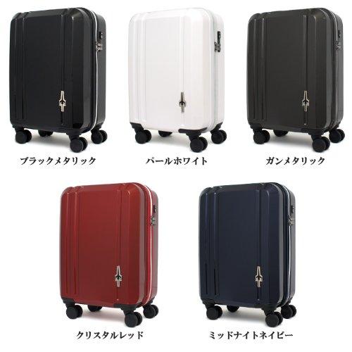 (トランスコンチネンツ)TRANS CONTINENTS スーツケース TC-0665-48 47cm ガンメタリック
