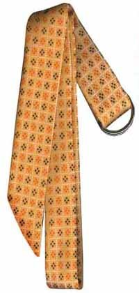 Women's Fabric Sash Belt with D-ring Slide Buckle. Ladies Yellow with Brown/Orange Pattern - Buy Women's Fabric Sash Belt with D-ring Slide Buckle. Ladies Yellow with Brown/Orange Pattern - Purchase Women's Fabric Sash Belt with D-ring Slide Buckle. Ladies Yellow with Brown/Orange Pattern (Umo Lorenzo, Umo Lorenzo Belts, Umo Lorenzo Womens Belts, Apparel, Departments, Accessories, Women's Accessories, Belts, Womens Belts, Woven, Woven Belts, Womens Woven Belts)