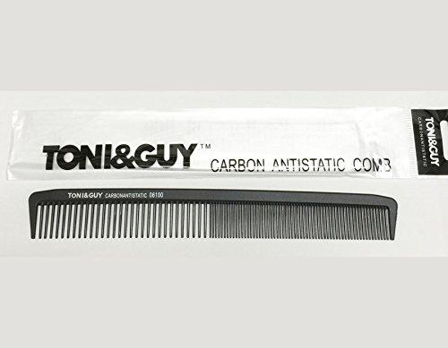 TONI&GUY カーボン カット用 ロングコーム ブラック 220mm 美容室 美容院 美容師 プロ愛用