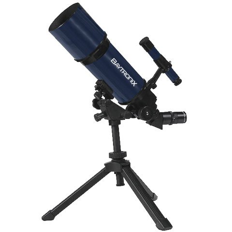 Blue Twinstar Astromark 80Mm 16-40X Portable Refractor Telescope Kids Pak Bundle