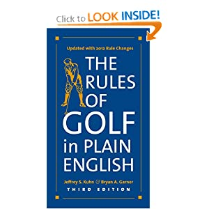The Rules of Golf in Plain English - Jeffrey S. Kuhn