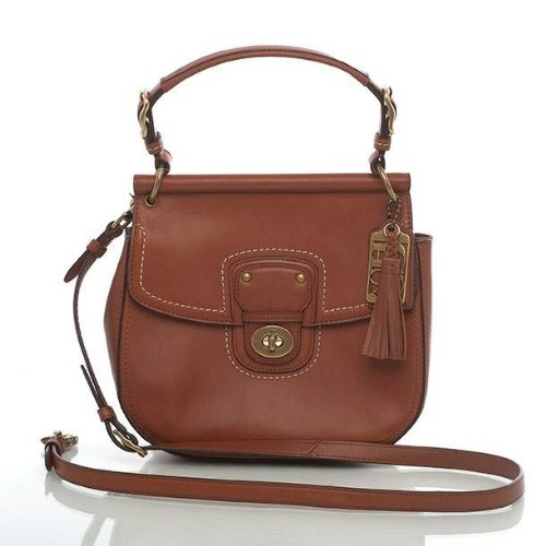 Coach Leather Willis Convertible Crossbody Bag 19132 Britishtan