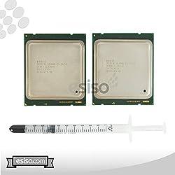Matching Pair Intel Xeon E5-2670 Eight Cores Processors 2.60Ghz 20MB Smart Cache 8.00 GT/S QPI TDP 115W SR0KX BX80621E52670