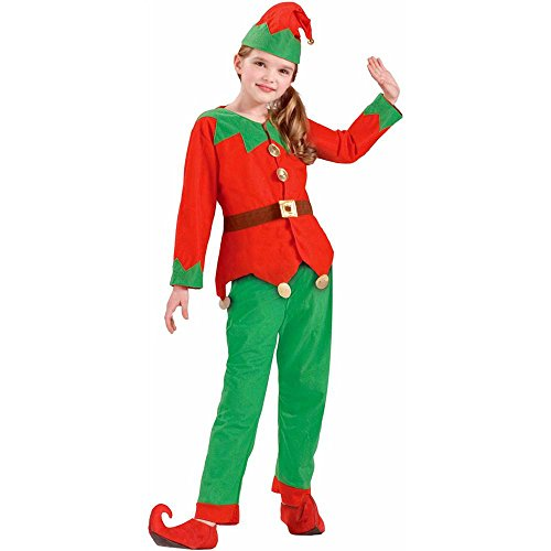 Christmas Elf Kids Costume - Medium