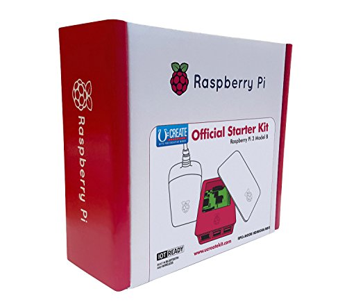 U: Create - Raspberry Pi 3 offiziellen Starter Kit (weiß, international)