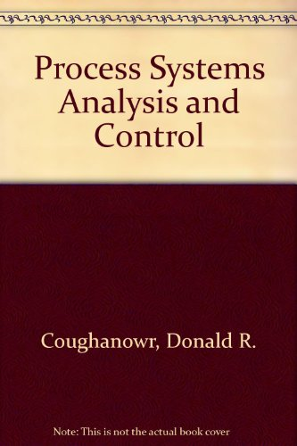 Process Systems Analysis and Control PDF