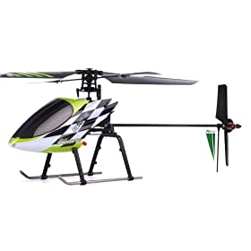 4-Channel Radio Remote Control RC Helicopter RTF Fixed Pitch - 100% Ready-to-Fly w/ Lipo Battery