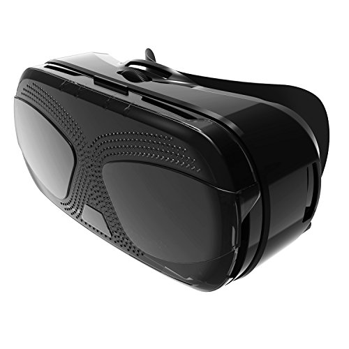 Kingstar VR Box Virtual Reality 3d Vr Video Glasses Compatible with 4.0-5.7 Inches Smartphones for Movies Iphone 6 6s Samsung Galaxy 3d Games Google Cardboard Style (eyes)