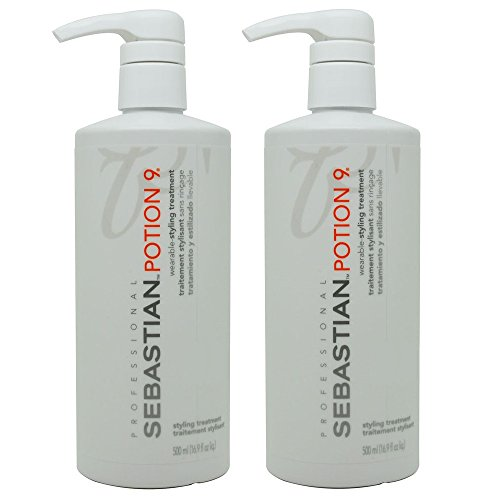 Sebastian Potion 9 Wearable Styling Treatment, 16.9 oz, 2 Piece (Camellia Sinesis Extract compare prices)