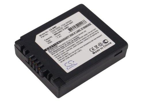 CS Akku 680 mAh 7.4 V passend für Panasonic Lumix DMC-FZ1, DMC-FZ10, DMC-FZ10EB, DMC-FZ10EG-K, DMC-FZ10EG-S, DMC-FZ10GN, DMC-FZ15, DMC-FZ15K, DMC-FZ15P, DMC-FZ1A, DMC-FZ1A-K, DMC-FZ1A-S, DMC-FZ1B, DMC-FZ1PP, DMC-FZ2, DMC-FZ20, DMC-FZ20BB, DMC-FZ20E, DMC-FZ20EG-K, DMC-FZ20EG-S, DMC-FZ20K, DMC-FZ20PP, DMC-FZ20S, DMC-FZ2A-S, DMC-FZ2E, DMC-FZ2PP, DMC-FZ3, DMC-FZ3B, DMC-FZ3EG-S, DMC-FZ3GN, DMC-FZ3PP, DMC-FZ4, DMC-FZ4EG-S, DMC-FZ4PP, DMC-FZ4S, DMC-FZ5, DMC-FZ5EB, DMC-FZ5EG, DMC-FZ5EG-K, DMC-FZ5EG-S, D