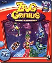 Zoog Genius: Language Arts, History, Geography (Jewel Case)