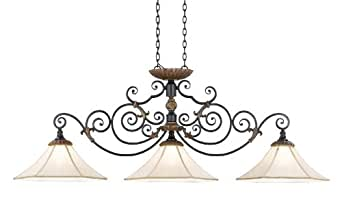 nulco lighting 3013 87 f french country provincial bronze