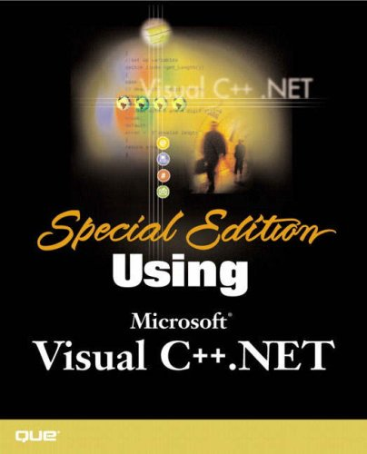 Special Edition Using Visual C++.NET