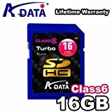 A-Data 16GB Turbo Class 6 SDHC Memory Card ~ ADATA