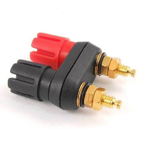 SODIAL(R) Connecteur de double Banana femelle pour amplificateur de haut-parleur