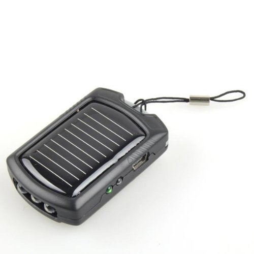 Neewer 3 LED Light Solar Power Charger for Mobile Phone Nokia