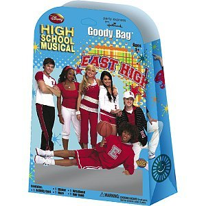 High School Musical Goody Bag with 5 Favors - 1